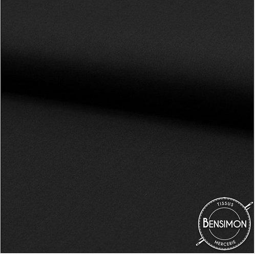 Tissu Coton - Noir X 50cm
