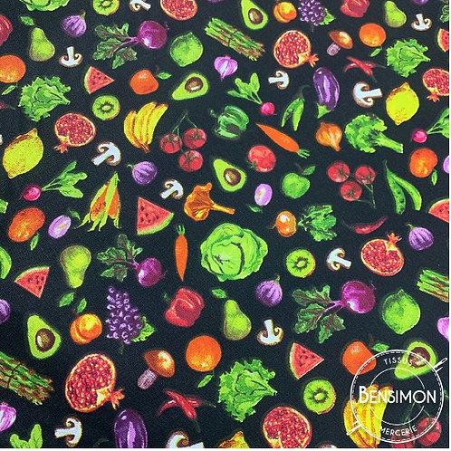 Tissu coton imprimés - Jardinière X 50cm