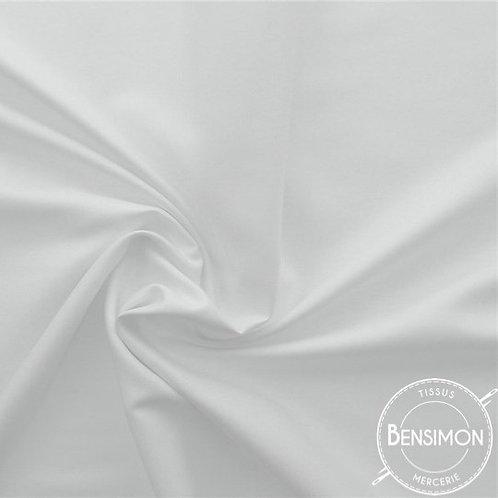 Tissu en Coton pour Drap en 3m - Blanc X 50cm