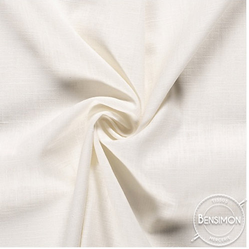 Tissu Lin - Écru X 50cm