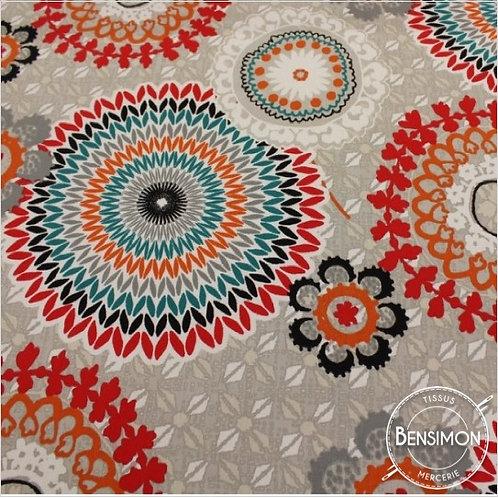 Tissu Sergé 100% coton - Colima lin X 50cm