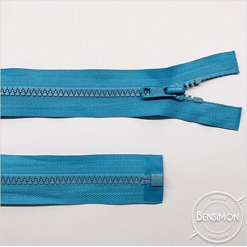 Fermeture injectée 5mm séparable - Turquoise