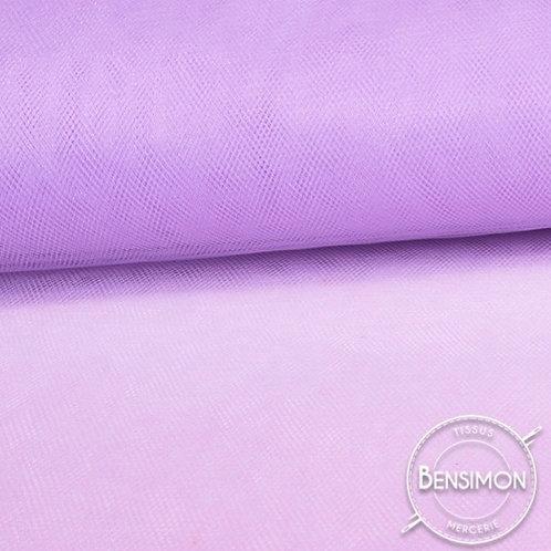Tissu Tulle souple grande largeur - Parme Lilac X 1M
