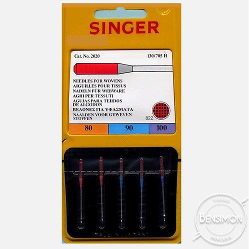 Aiguilles machine Singer - taille mélangée