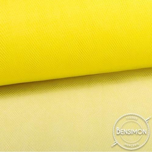 Tissu Tulle souple grande largeur - Citronelle X 1M
