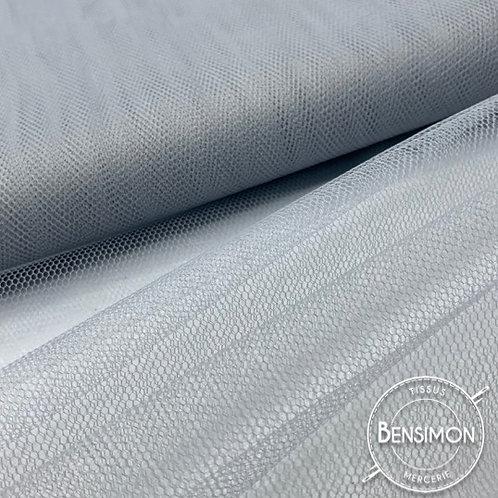 Tulle gris tutu raide grande largeur mariage