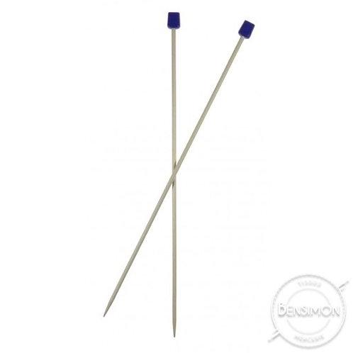 Aiguilles à tricoter plastique - 40 cm