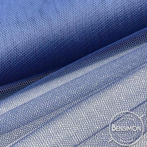 Tulle bleu marine tutu raide grande largeur mariage
