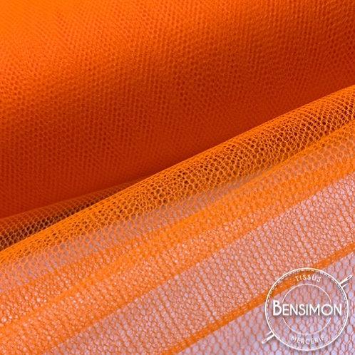 Tulle orange tutu raide grande largeur mariage