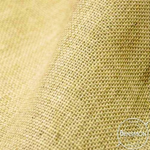 Tissu toile de Jute - Moutarde X 50cm