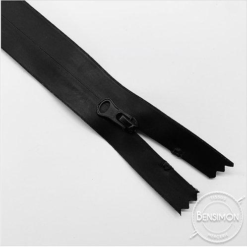 Fermeture spirale 5mm séparable Waterproof - Noir