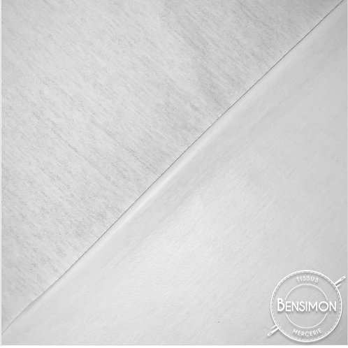 Tissu PUL imperméable coton OekoTex - Blanc X 50cm