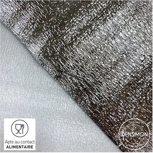 Tissu Isotherme 2mm - Agrée contact alimentaire en Aluminium X 50cm
