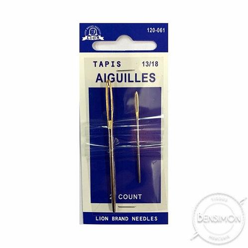 Aiguilles main - Tapis 13 et 18