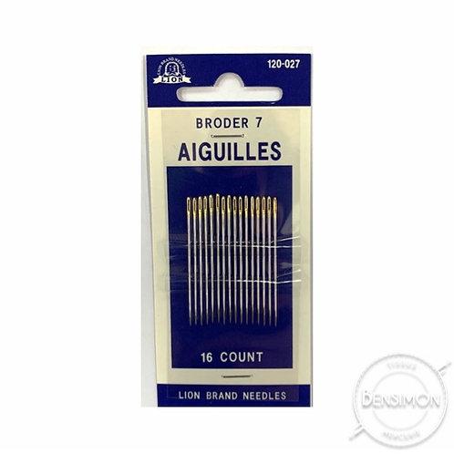 Aiguilles main - Broder 7