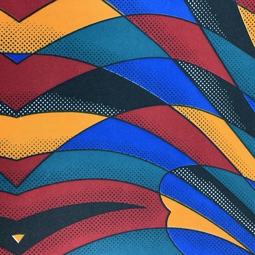 Tissu imprimé WAX - Motifs Africa