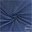 Thumbnail: Double gaze coton OekoTex  - Indigo - Bleu Jeans X 50cm