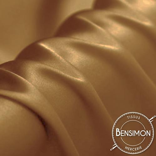 Tissu satin premium - Camel X 50cm