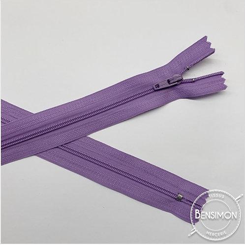 Fermetures nylon 3mm non séparables - Parme 20 à 60cm