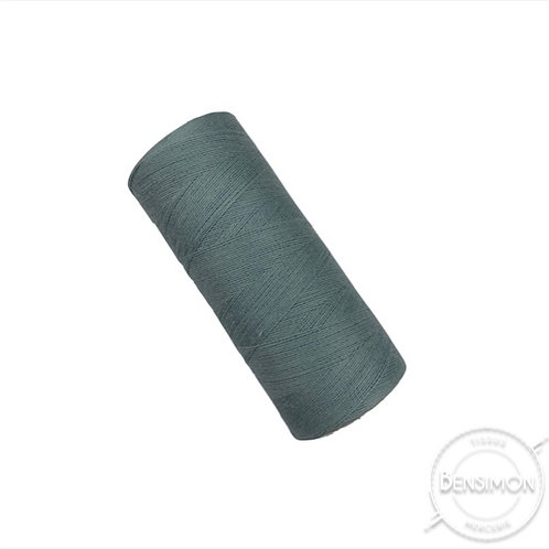 fil à batir coton bleu