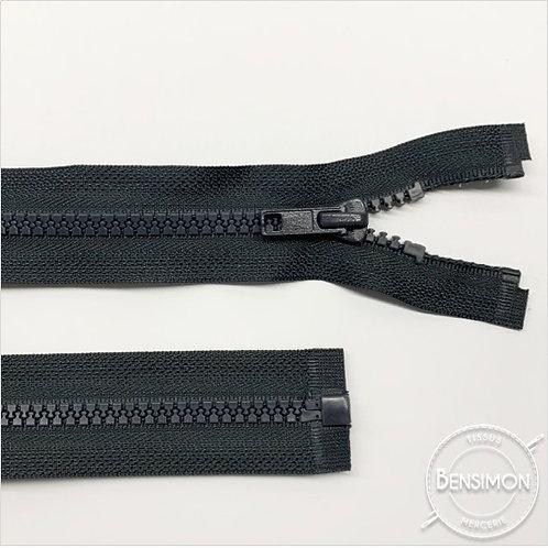 Fermeture injectée 5mm séparable - Gris anthracite