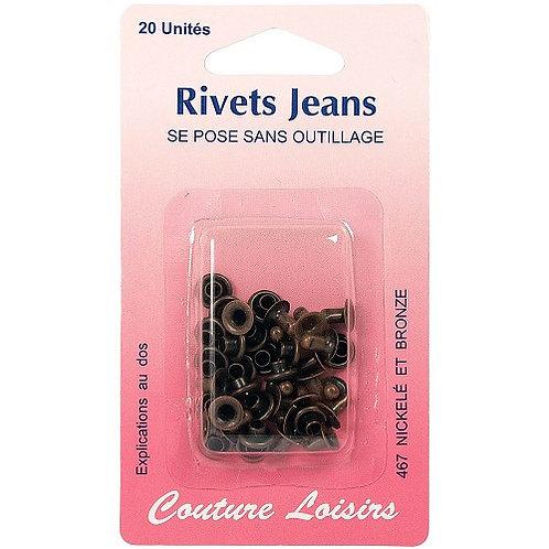 Rivets Jeans X 20