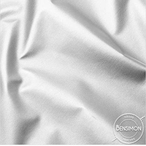 Tissu Aluminium black out X 1m