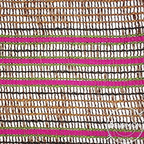 Tissu toile de Jute - Multicolor X 50cm