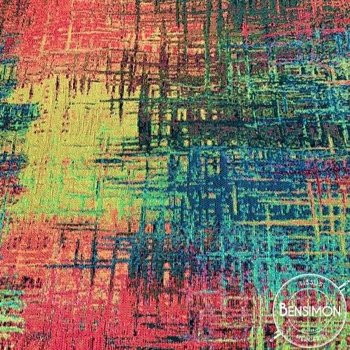 Tissu style Jacquard tissé - Multicouleurs X 50cm