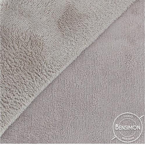 Tissu éponge Bambou OekoTex - Galet X 50cm