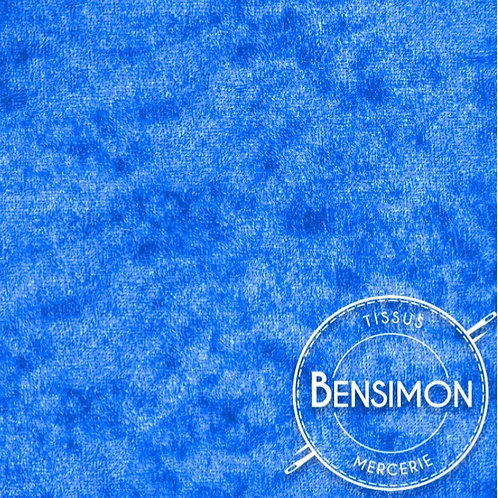 Tissu Panne de Velours - Turquoise X 50cm