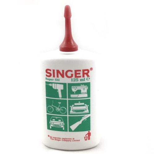 Huile machine Singer