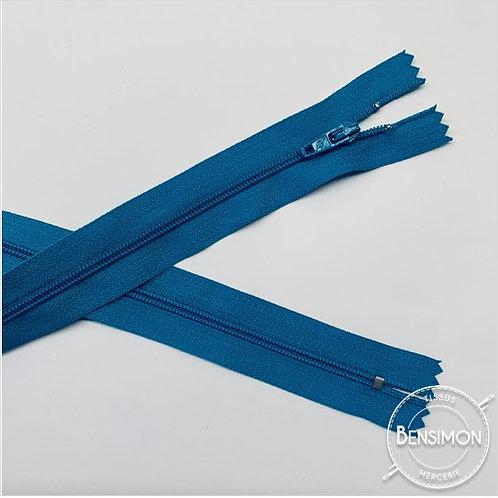 Fermetures nylon 3mm non séparables - Turquoise 20 à 60cm