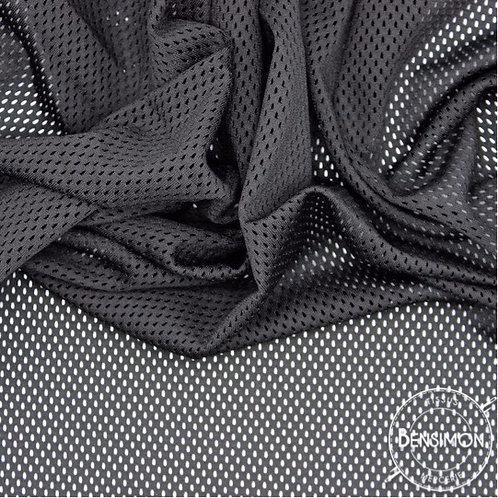 Tissu résille filet mesh sport noir