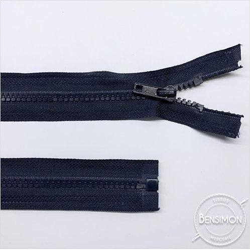 Fermeture injectée 5mm séparable - Bleu Marine