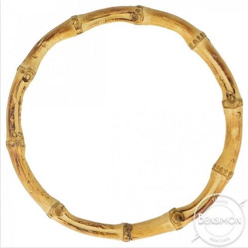 Cercle en Bambou - Anses sac par paire