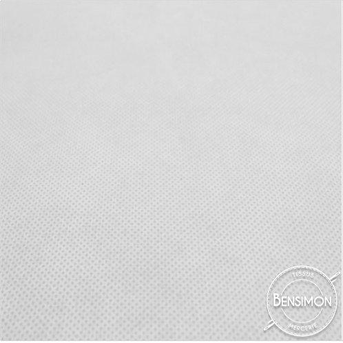 Tissu non tissé - Blanc X 1m