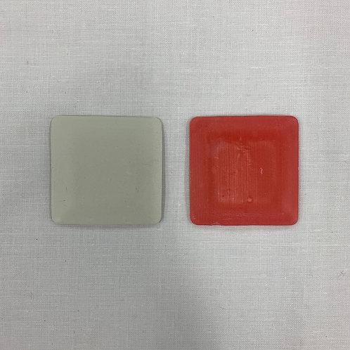 Duo de craie blanche, couleur