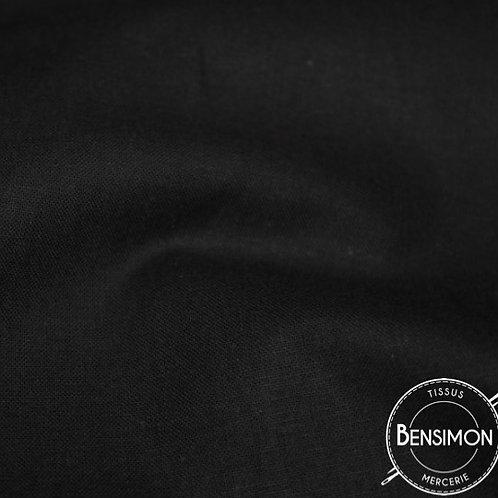 Tissu 100% occultant noir X 1m
