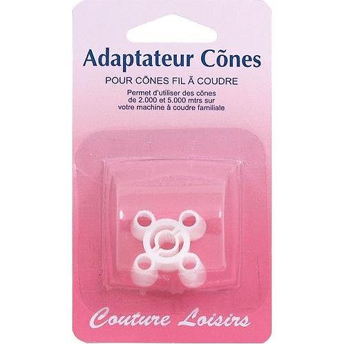 Adaptateur pour cônes
