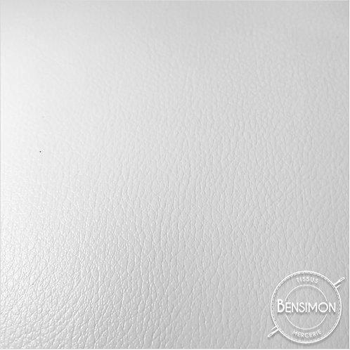 Tissu Simili Cuir épais Valentino - Blanc X 50cm