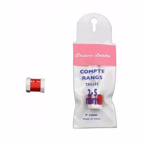 Compte rang - Tailles 2-5mm
