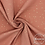 double gaze coton pois dorés lange bébé marsala terracotta
