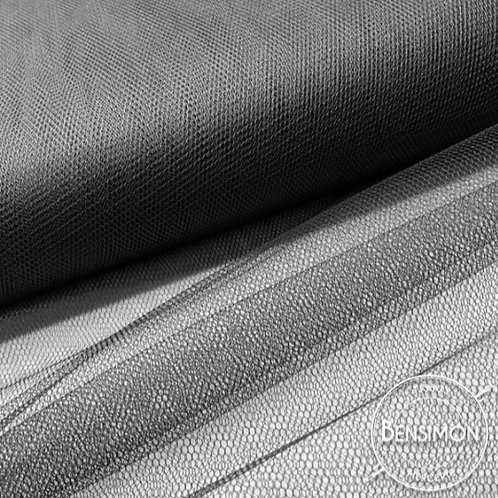 Tulle noir tutu raide grande largeur mariage