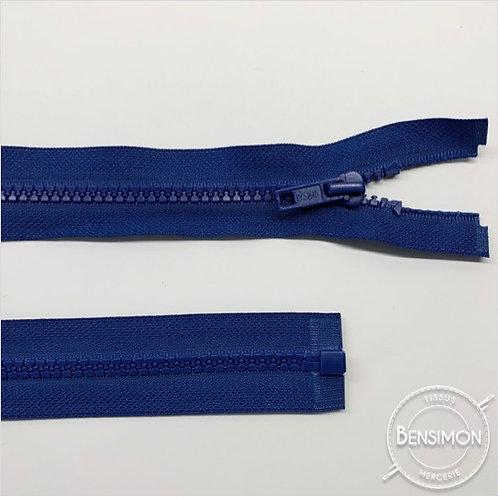 Fermeture injectée 5mm séparable - Bleu roi