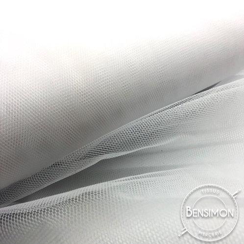 Tulle blanc tutu raide grande largeur mariage