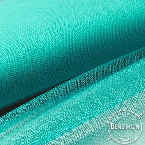 Tulle turquoise vert d'eau tutu raide grande largeur mariage
