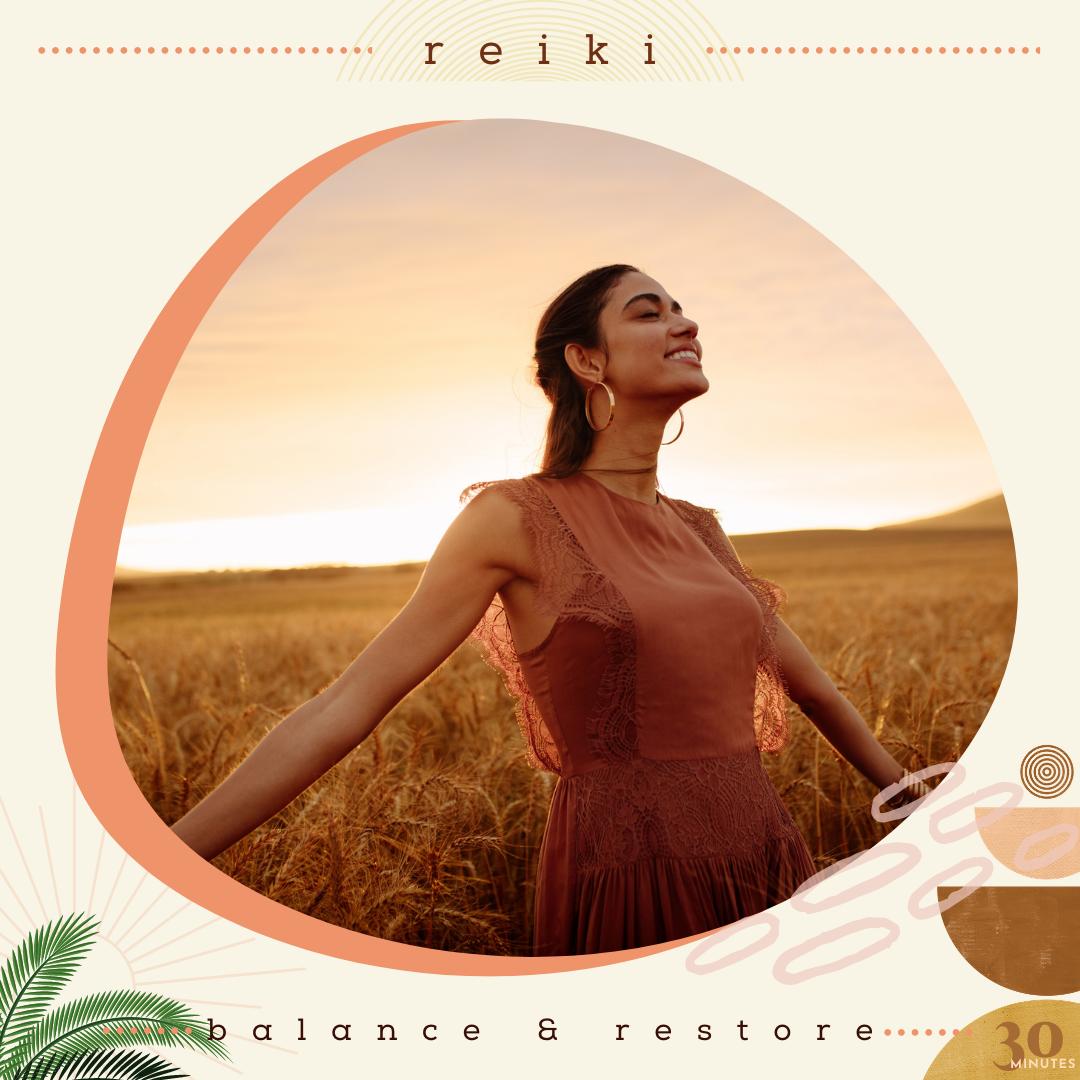 REIKI | Balance & Restore
