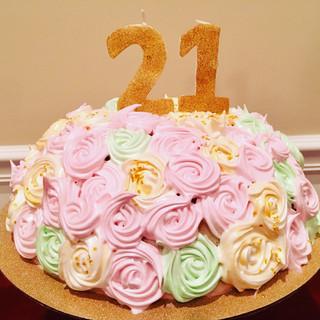 21st Birthday Meringue Bombe