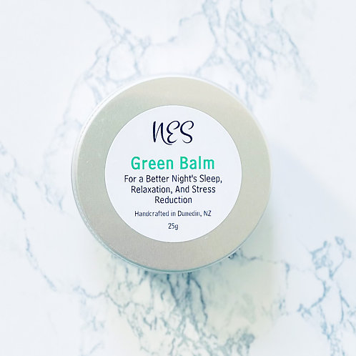 Green Balm -  Relaxation and Wellbeing Balm